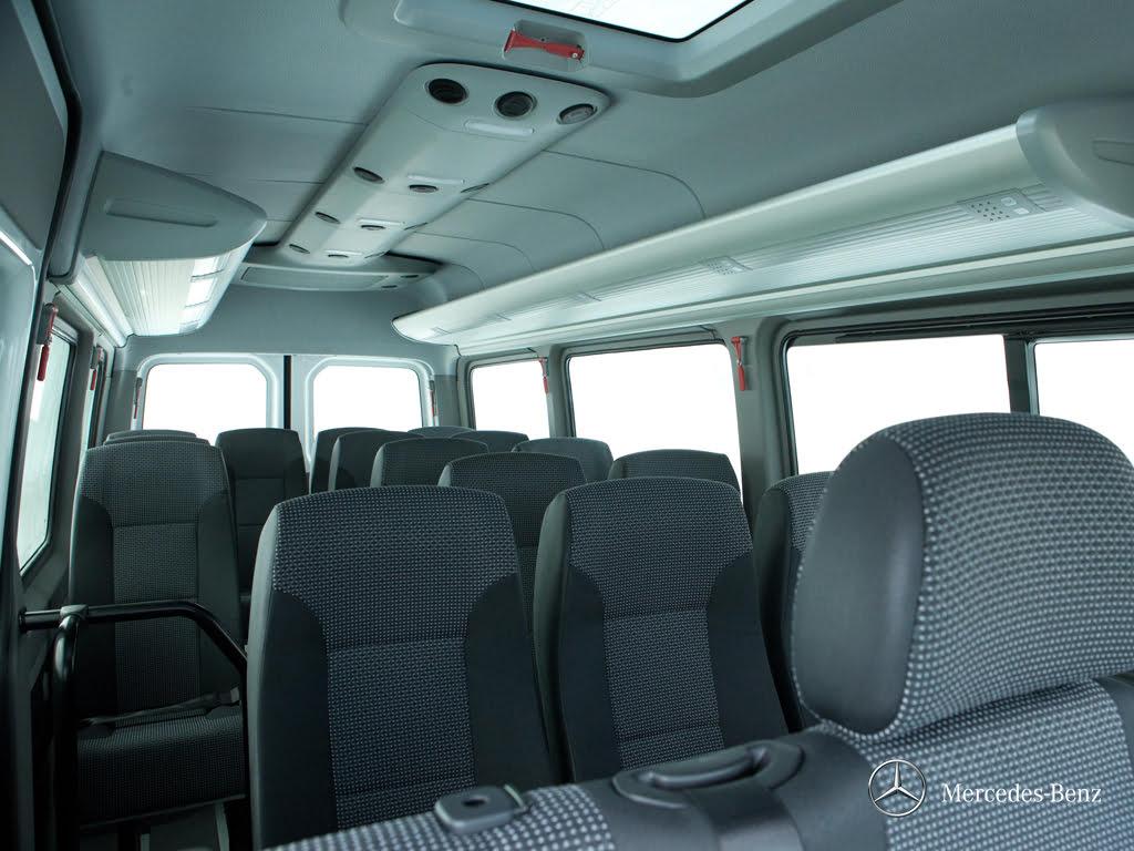 Van Sprinter 515 - Bancos Individuais Reclináveis