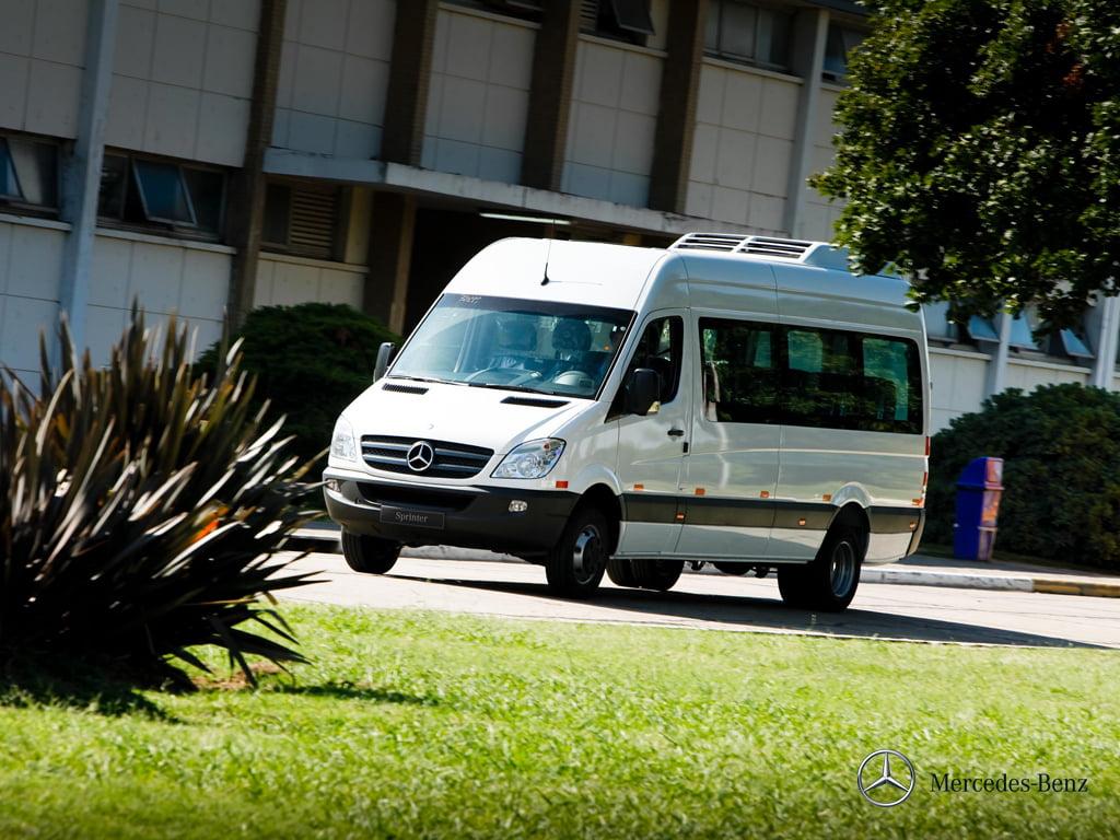 Van Sprinter 515 - Visão Lateral