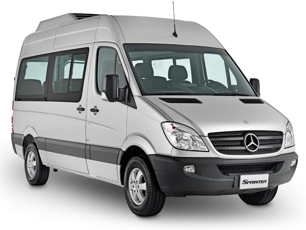 Van Sprinter 415 - Visão Lateral